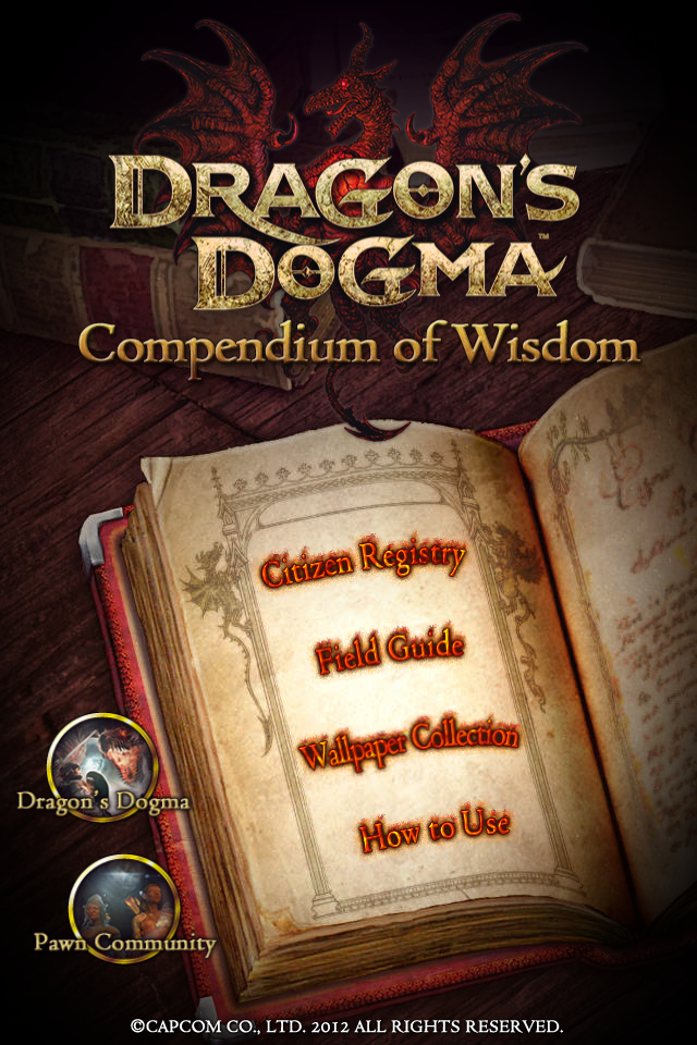 Screenshot Dragon's Dogma  Compendium of Wisdom